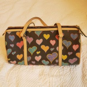 Vintage Dooney and Bourke Heart Purse